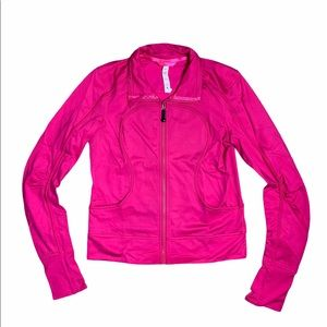 Lululemon Hot Pink Track Jacket 8
